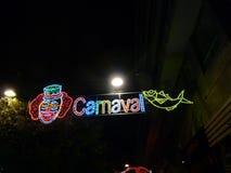 Luces multicoloras del carnaval Imagen de archivo