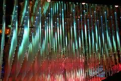 Luces multicoloras del LED Foto de archivo libre de regalías