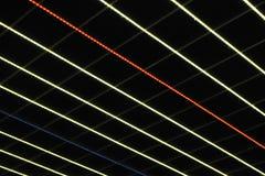 Luces multicoloras del LED Fotos de archivo libres de regalías