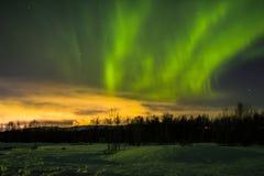 Luces norteñas Fotografía de archivo