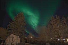Luces norteñas Imagenes de archivo