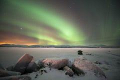 Luces norteñas Fotos de archivo
