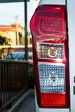Luces posteriores de un vehículo de motor Imagen de archivo libre de regalías
