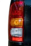 Luces posteriores de un vehículo de motor Fotos de archivo