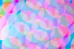 Luces psicodélicas del fondo abstracto Fotos de archivo