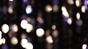 Luces que brillan abstractas almacen de video