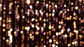 Luces que brillan abstractas almacen de metraje de vídeo