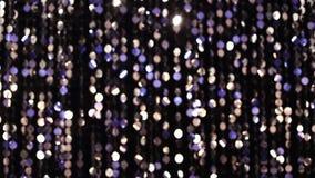 Luces que brillan abstractas metrajes