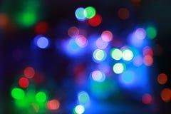 Luces que contellean Imágenes de archivo libres de regalías