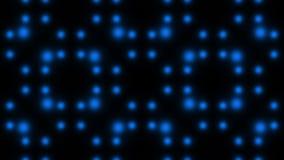 Luces que destellan coloridas, lazo stock de ilustración