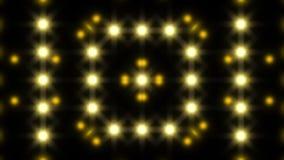 Luces que destellan coloridas, lazo ilustración del vector