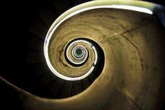 Luces que tuercen en espiral Foto de archivo libre de regalías