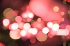 Luces rojas Fotografía de archivo libre de regalías