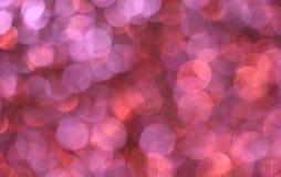Luces rosadas Fotografía de archivo libre de regalías