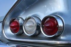 Luces traseras del impala Imágenes de archivo libres de regalías