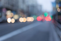 Luces urbanas Imagen de archivo