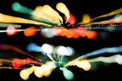 Luces urbanas Fotografía de archivo libre de regalías