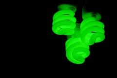 Luces verdes Fotos de archivo libres de regalías