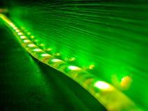 Luces verdes imagen de archivo