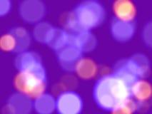 Luces violetas Imagen de archivo libre de regalías