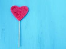 Lucette de forme de coeur Photo stock