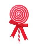 Lucette rouge et blanche de vacances Images stock