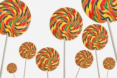 Lucettes colorées Image libre de droits
