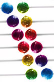 Lucettes colorées Images libres de droits