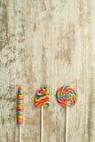 Lucettes colorées de différentes formes Images stock