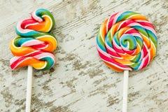 Lucettes colorées de différentes formes Image libre de droits