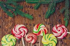 Lucettes de caramel Photo libre de droits