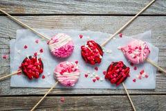 Lucettes de jour du ` s de Valentine Photos libres de droits