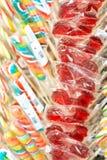 Lucettes et sucrerie colorées Photos stock