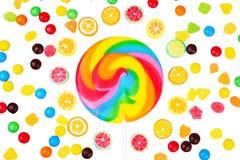 Lucettes et sucreries photo stock