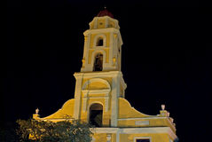 Lucha Contra Bandidos by night, Trinidad, Cuba Royalty Free Stock Photos