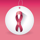 Lucha contra campaña del cáncer de pecho Imagen de archivo libre de regalías
