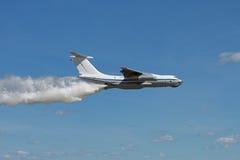 Lucha contra el fuego aérea Imágenes de archivo libres de regalías