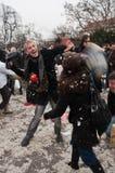 Lucha de almohadilla Brno Imagen de archivo libre de regalías
