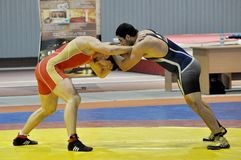 Lucha de estilo libre Foto de archivo