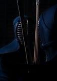 Lucha de Kendo Imagenes de archivo