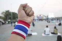 Lucha de la mano Imagen de archivo libre de regalías