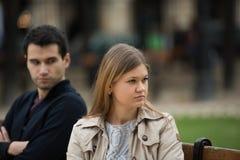 Lucha del amor en París foto de archivo libre de regalías
