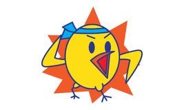 Lucha del pájaro Imagenes de archivo