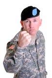 Lucha del soldado Imagen de archivo libre de regalías