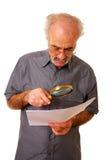 Lucha a leer fotografía de archivo libre de regalías