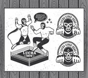 Free Lucha Libre Collection Royalty Free Stock Photo - 71926845