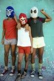 Lucha Libre kids Royalty Free Stock Image