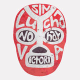 Lucha libre mask. Vector illustration Stock Photography
