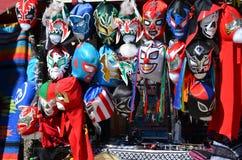 Lucha Libre Masks immagine stock