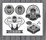 Lucha Libre Royalty Free Stock Photos